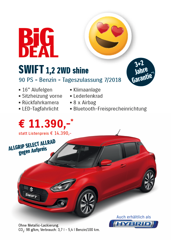 Suzuki SWIFT BIG DEAL