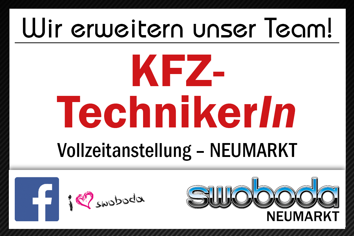 KFZ-TechnikerIn in Neumarkt